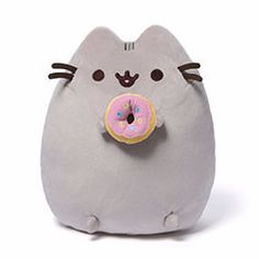 This squishy Pusheen plush is a perfect pal for dance parties and eating all of your favourite treats. We bet she'll even give you a bite of her tasty donut!