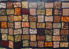 Autumn Leaves Patchwork Quilt by CindyOQuilts on Etsy, $225.00