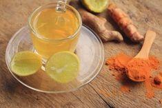 Getränk mit Kurkuma und Zitrone zum Abnehmen und für eine bessere Verdauung - Besser Gesund Leben