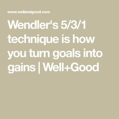 The strength-training method is how you turn goals into gains Weight Lifting, Weight Loss, Weighted Squats, 120 Pounds, Core Work, Just Keep Going, Fitness Design, Bench Press