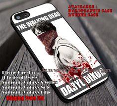 The Walking Dead | Daryl Dixon | Dead iPhone 6s 6 6s  6plus Cases Samsung Galaxy s5 s6 Edge  NOTE 5 4 3 #movie #walkingdead ii