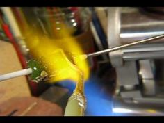 ▶ Devardi Pure Silver Foil: Stringers, Wrapping, Raku, Lampwork Bead Making Tutorial - YouTube