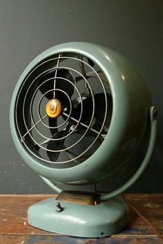 Retro Home: Vintage Industrial Vornado Electric Fan /