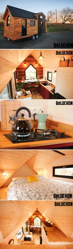 The Calypso tiny house from Baluchon