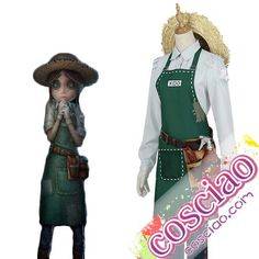第五人格 庭師 コスプレ衣装 Identity V エマ・ウッズ コスチューム衣装 格安通販