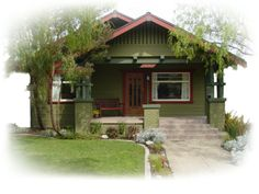 1916 Craftsman Bungalow House featuring Craftsman Fonts: Other Great House Blogs