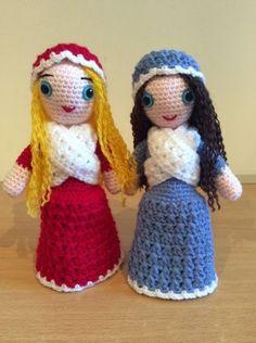 Lonemer Creations: Melissa & Clarissa (Free Amigurumi Doll Pattern)