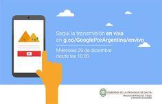 Llega a Salta Google por Argentina para brindar capacitaciones a dueños de PYMES y emprendedores: La actividad será transmitida por un…