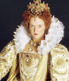 Miranda Richardson - Turned Elizabeth into a comedy caricature known as 'Queenie' for the BBC series Blackadder II (1986)