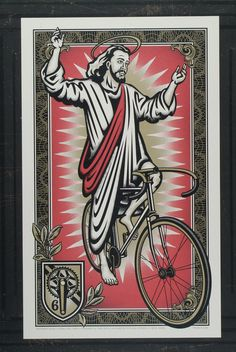 On the third day he rode. Poster by unknown for Artcrank 2009.