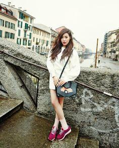 twenty2 blog: Girls' Generation's Tiffany and Yuri in Vogue Girl Korea February 2014 | Fashion and Beauty