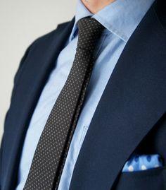 Faça seu estilo no Atelier das Gravatas - atelierdasgravatatas.com.br ...  clean blue