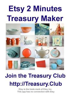 Making Etsy Treasuries in UNDER 2 mins