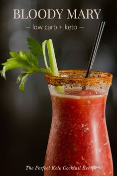 Make the ultimate Keto Bloody Mary! Make a better Bloody Mary with this recipe, garnishments, and rimmers for a low carb Bloody Mary Bar! Bloody Mary Cocktail Recipe, Best Bloody Mary Recipe, Bloody Mary Bar, Bloody Mary Recipes, Cocktail Recipes, Bourbon Bloody Mary Recipe, Drink Recipes, Margarita Recipes, Alcohol Recipes