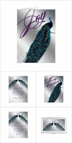 Peacock Cards & Invites Peacock Wedding Invitations, Wedding Invitation Cards, Invites, Rack Card, Holiday Time, Marketing, Elegant, Business, Christmas