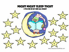 Sticker Charts for Sleep Problems