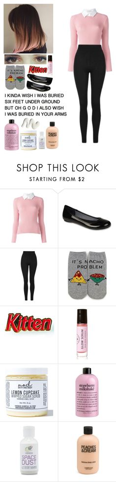 """""""*•YOUVE ALWAYS LOVED THE STRANGE BIRDS NOW I WANT TO FLY INTO YOUR ARMS"""" by tiny-handsome-rhys ❤ liked on Polyvore featuring Altuzarra, Dr. Scholl's, Topshop, Forever 21, Laser Kitten, Birchrose + Co., Mod Bath and Body and philosophy"""