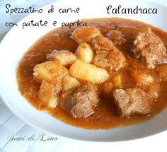 Calandraca - FRIULI VENEZIA GIULIA - La calandraca è un piatto tipico della cucina marinara triestina che consiste in uno spezzatino di carne lessa con patate.
