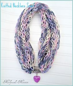 A quick knit scarf becomes a statement piece with the addition of a cute bead. Click here for the full tutorial. Actually Amy (1094 Posts)When Amy is not blogging here on And Sew We Craft you can find her over at Actually Amy where she blogs about her life and other things.