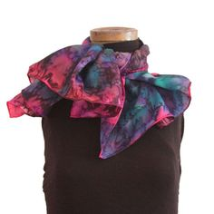 We are proud to present our exclusive collection of scarves. Each scarf is unique and made entirely by hand using the finest quality of silk. Scarves, Hand Painted, Silk, Trending Outfits, Unique, Awesome, Etsy, Vintage, Fashion