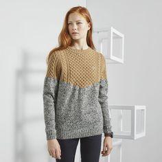 Jersey Lacoste LIVE con cuello barco de mezcla de lana con efecto punto