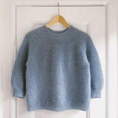 Ravelry: Novice Sweater - Mohair Edtion pattern by PetiteKnit Bind Off, Stockinette, Pullover, Baby Knitting, Knitting Kits, Knitting Projects, Knitwear, Knitting Patterns, Knit Crochet