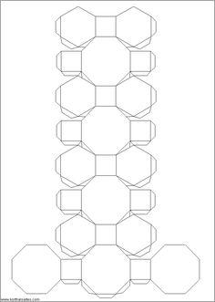 Net Truncated Cuboctahedron