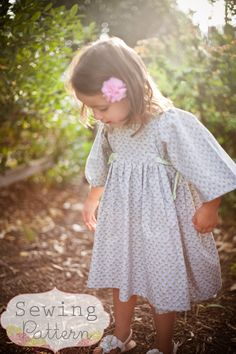 INSTANT DOWNLOAD- Brooklyn Dress (Sizes 12/18 months to 8) PDF Sewing Pattern and Tutorial