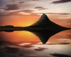 Photograph Mirror Sunset by Jonathan Besler on 500px