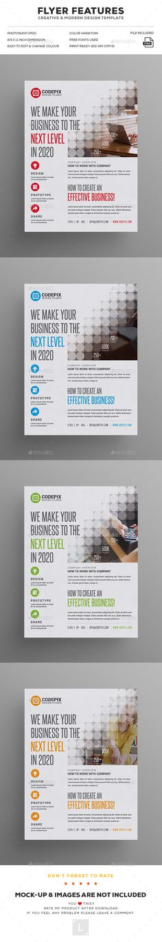 #Corporate #Flyer - Corporate Flyers Download here: https://graphicriver.net/item/corporate-flyer/19493236?ref=alena994