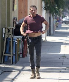 Shia LaBeouf At Gym After AA Meeting - http://oceanup.com/2014/07/10/shia-labeouf-at-gym-after-aa-meeting/