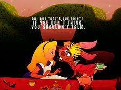 Ne mieux vaut-il pas inspirer la crainte que l'amour ? - Alice au pays des merveilles, le valet de coeur.