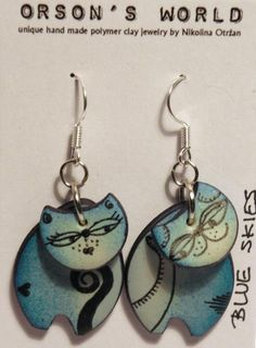 blue skies - mini cats by Orson's World, via Flickr SO CUTE