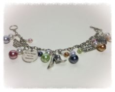Military Love Bracelet by PearlsForDogTags on Etsy, $22.75