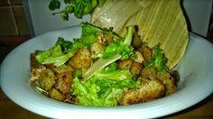 Tupun tupa: ceasar-salaatti