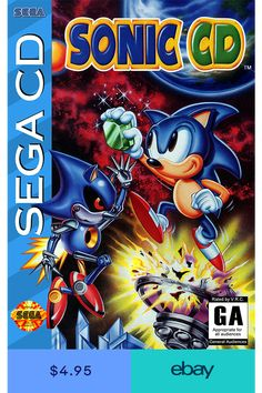 It's time to usher the past into the future in this enhanced recreation of Sonic CD!Sonic travels to the distant shores of Never Lake for the once-a-year appearance of Little Planet - a mysterious . Vintage Video Games, Classic Video Games, Retro Video Games, Vintage Games, Retro Games, Vintage Toys, Playstation, Xbox, Sega Cd