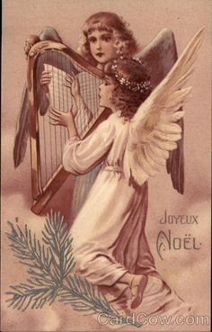 Vintage Angels - Angels - Vintages Cards - Christmas Wallpapers, Free ClipArt for Xmas, Icon's, Web Element, Victorian Christmas Photos and Vintage Santa Claus pictures Vintage Christmas Images, Victorian Christmas, Christmas Photos, Vintage Images, Christmas Angels, Christmas Greetings, Xmas, Mary Christmas, Christmas Holidays