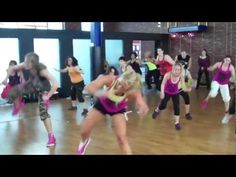 Chalene Johnson Turbo KIck Round 50 Turbo with Christine Dwyer Presenting at Bounce! Love this class