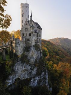 Another view of the beautiful Lichtenstein Castle