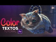 Textos de Colores After Effects Tutorial - YouTube