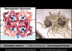 Proof that the Flying Spaghetti Monster lives within us all!