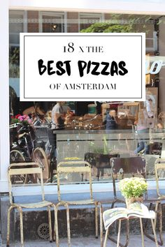 """There are plenty of restaurants in Amsterdam that serve pizza. But the best ones? Read the list with tips on travel blog http://www.yourlittleblackbook.me to see our favorite pizzarias in Amsterdam. Planning a trip to Amsterdam? Check http://www.yourlittleblackbook.me/ & download """"The Amsterdam City Guide app"""" for Android & iOs with over 550 hotspots: https://itunes.apple.com/us/app/amsterdam-cityguide-yourlbb/id1066913884?mt=8 or https://play.google.com/store/apps/details?id=com.app.r3914JB"""