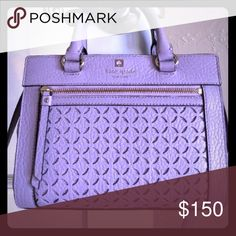 ⚡️BRAND NEW⚡️ Kate Spade perry lane mini romy Brand new with tags. Lilac color. Approximately 9.5x7.5x4.5 inches and shoulder strap is adjustable and removable. Original price $328. Other colors on sale at Kate Spade for $184. kate spade Bags Crossbody Bags