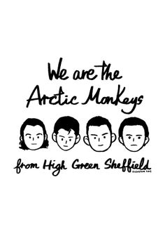 We are the Arctic Monkeys