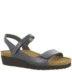 Naot Women's Madison from the Elegant Collection in it's new color, Ink! Available in more colors! #Naot #NaotFootwear #Comfort #Fashion #Sandals #WomensFashion #SpringHasSprung