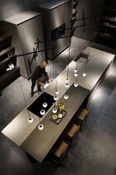 Modern Luxury Kitchens For A Grand Kitchen Luxury Kitchen Design, Contemporary Kitchen Design, Best Kitchen Designs, Luxury Kitchens, Interior Design Kitchen, Casa Kardashian, Grand Kitchen, Interior Minimalista, Home Decor Kitchen