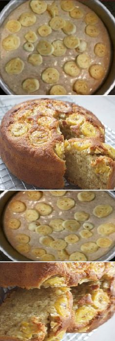 Food Cakes, Sin Gluten, Tapas, Banana Bread, Cake Recipes, French Toast, Brunch, Easy Meals, Food And Drink