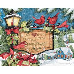 Christmas paper napkins with a group of red cardinals frolicking in the snow. Printed in Germany on paper. Printed in Germany on paper. Each paper napkin measures x cm x cm) folded. Package of 20 Napkins. Christmas Paper Napkins, Boxed Christmas Cards, Why Christmas, Merry Christmas, Christmas Ideas, Christmas Scenes, Christmas Things, Christmas Pictures, Beautiful Christmas