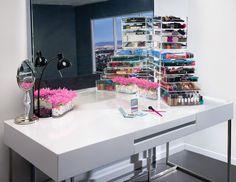 Image Of Mini U0027See Thruu0027 Acrylic Makeup Organizer | Diva Room (makeup) |  Pinterest | Acrylic Makeup Organizers And Makeup