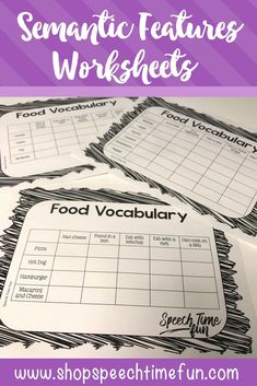 Work on comparing and contrasting using semantic features with this fun, no prep worksheet pack! Perfect for speech and language therapy.